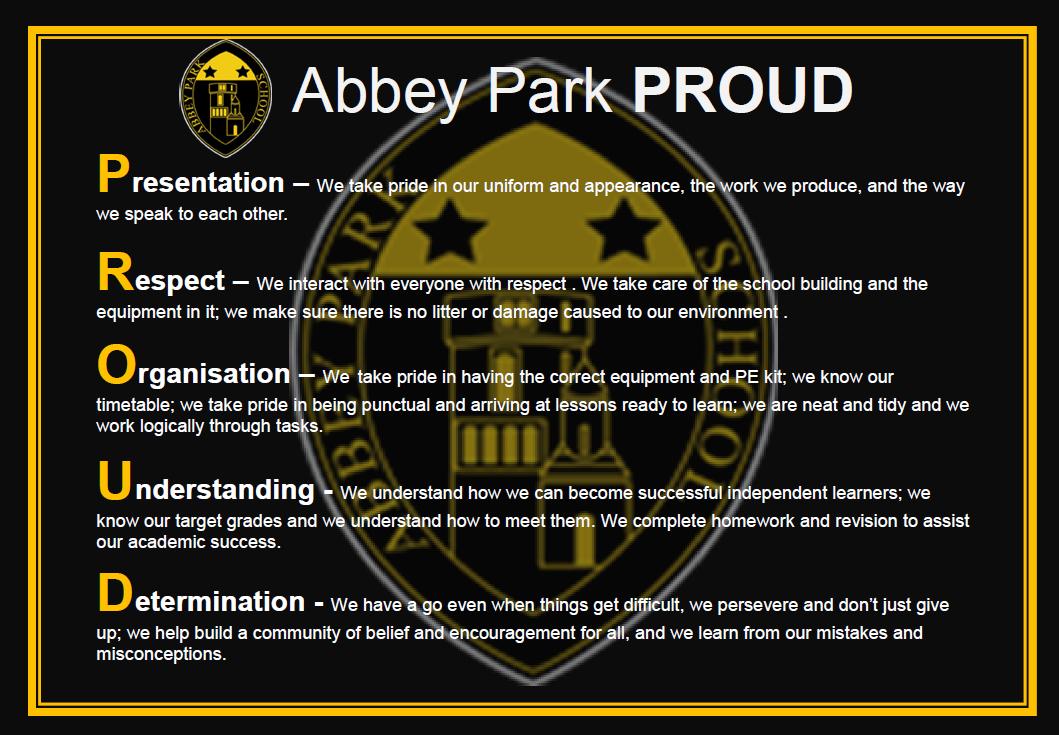 Abbey Park Proud